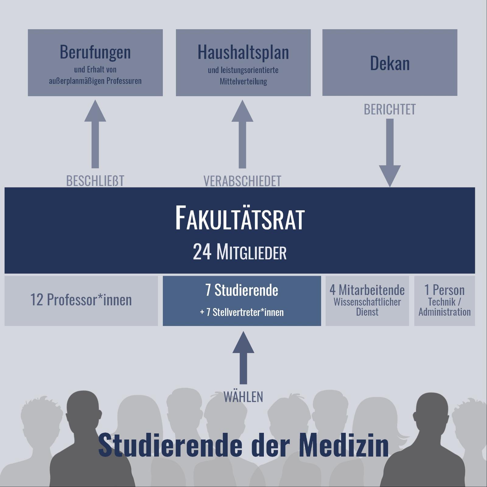 Fakultätsrat-Schema