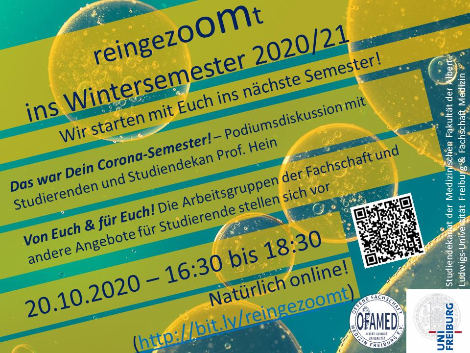 Einschreibefrist Wintersemester 2021